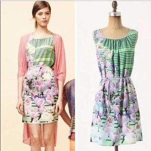 Anthropologie - Dream Daily floral dress top shirt